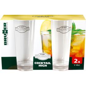 Brunner Cocktail High Set durchsichtig